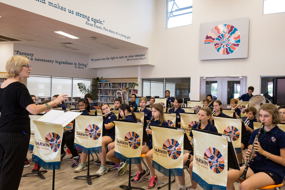 Music at Darwin Middle School