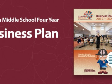 Darwin Middle School launches its 4 year Business Plan on 20 September 2017