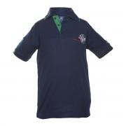 Unisex green polo shirt Darwin Middle School Uniform
