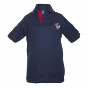 Unisex red polo shirt Darwin Middle School Uniform
