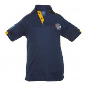 Unisex yellow polo shirt Darwin Middle School Uniform